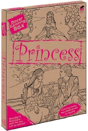Dover coloring box -- princess