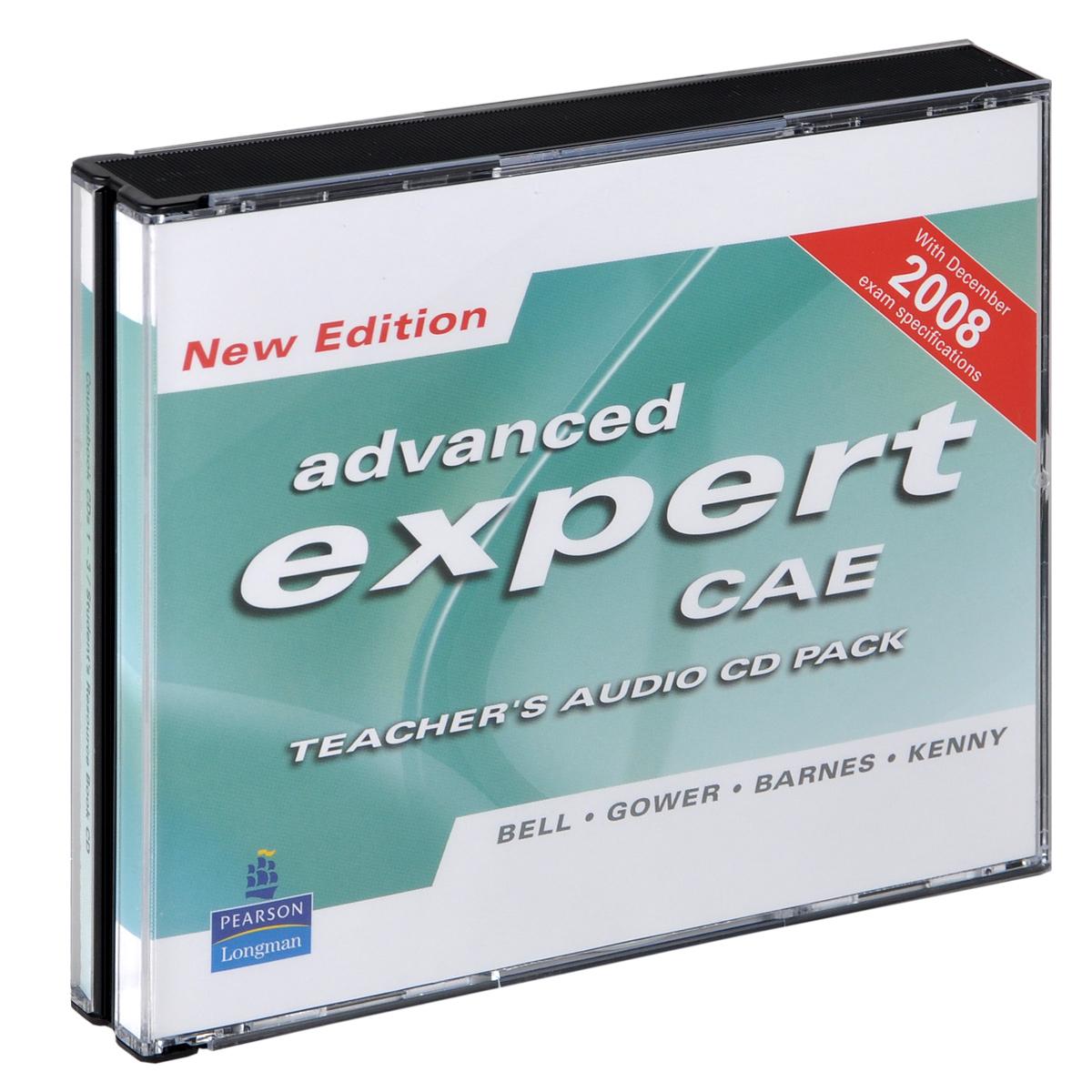 Advanced Expert CAE Teacher's Audio CD Pack (аудиокурс на 4 CD)