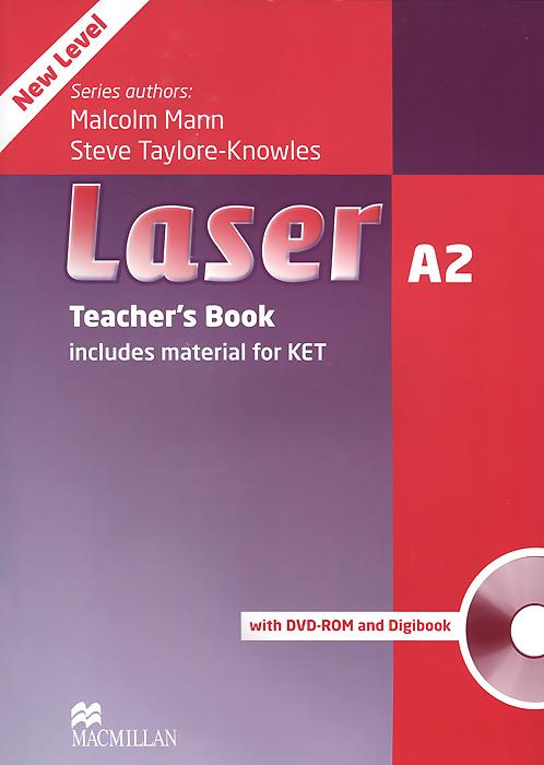 Laser A2: Teacher's Book (+ DVD-ROM и CD-ROM)