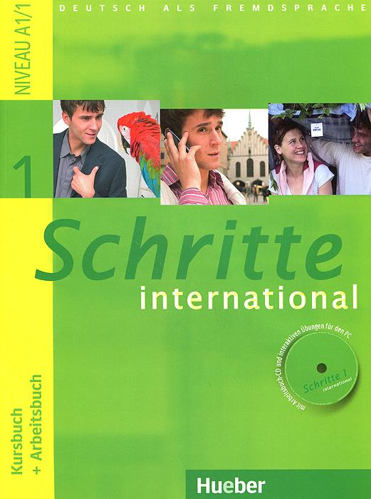 Schritte international 1: Kursbuch + Arbeitsbuch (+ CD-ROM)