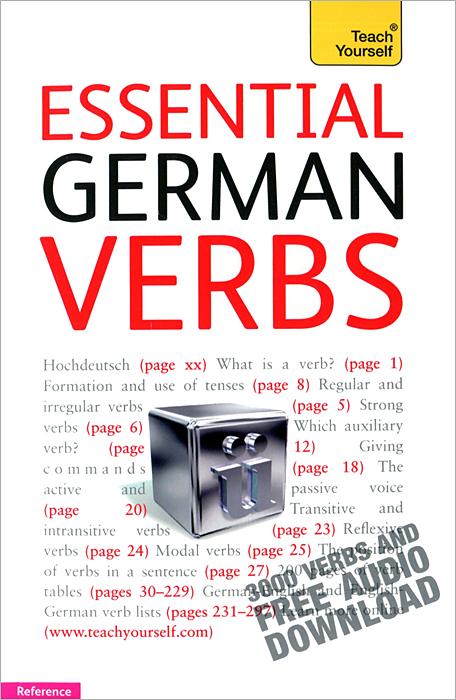 Teach Yourself: Essential German Verbs