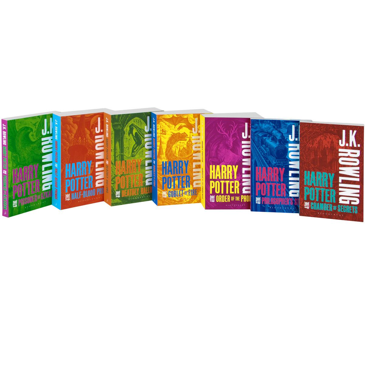 Harry Potter: The Complete Collection (комплект из 7 книг)