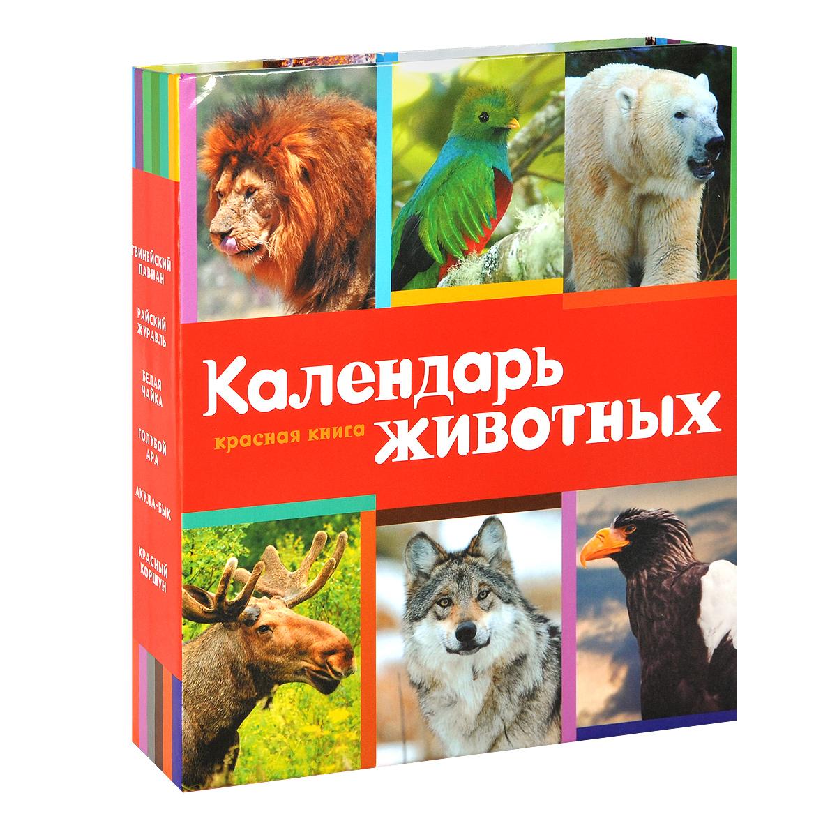 Календарь настольный (на спирали). Красная книга