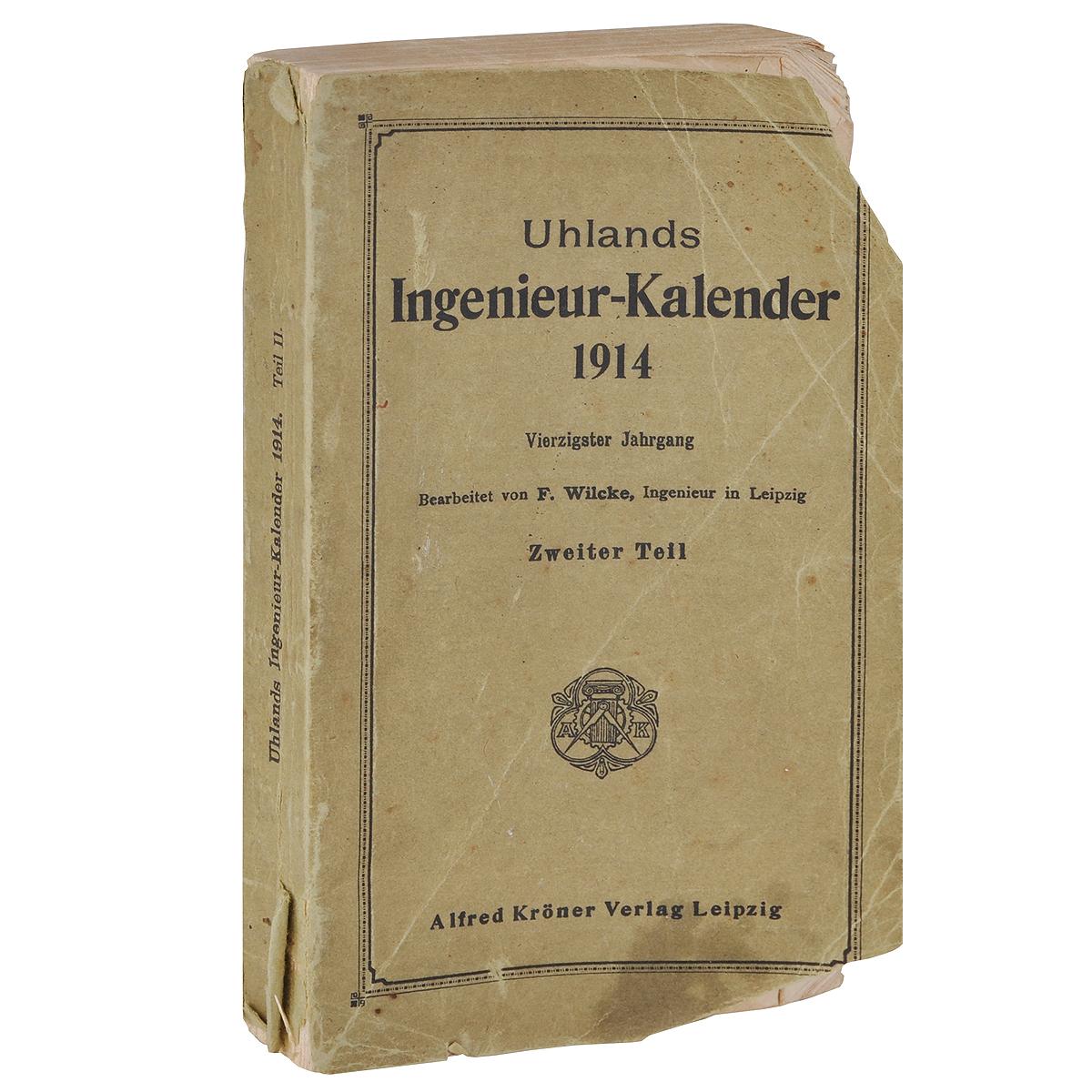 Uhlands Ingenieur-Kalender 1914
