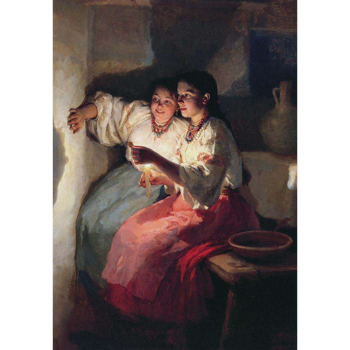 Русская живопись 1890–1900 годов