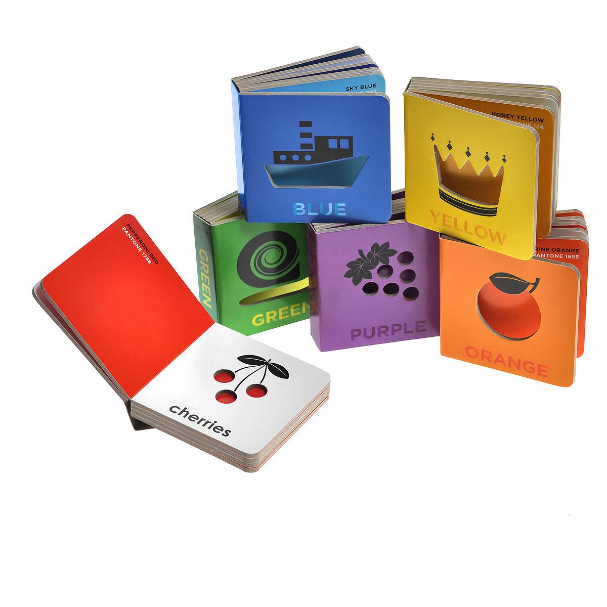 Pantone: Box of Colour (комплект из 6 книжек)