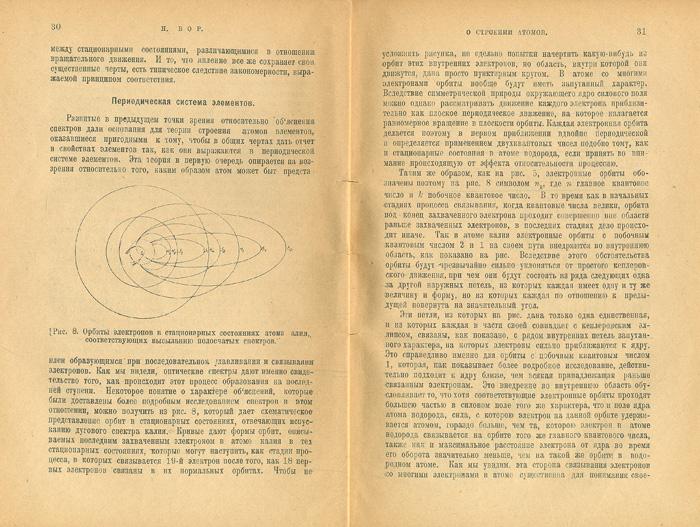 Новые идеи в физике. Строение атома III