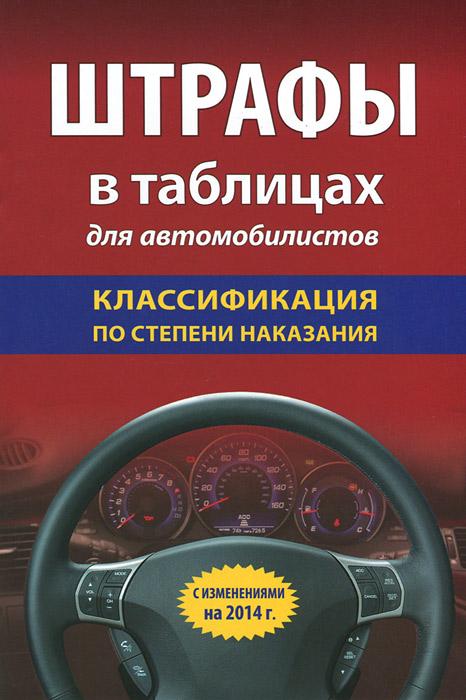 Штрафы в таблицах для автомобилистов. Классификация по степени наказания ( 978-5-699-71336-3 )
