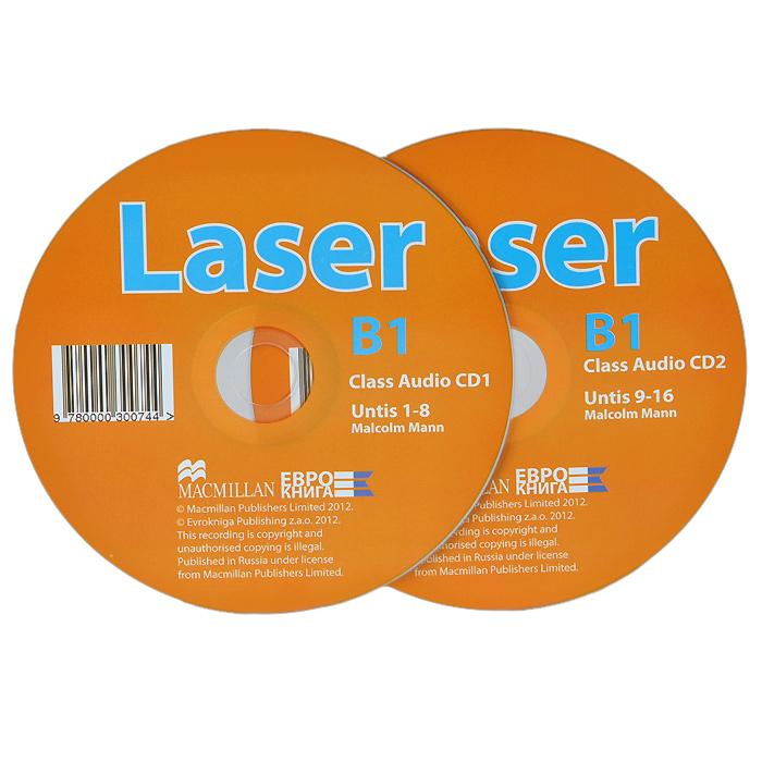 Malcolm Mann Laser B1: Class Audio CD (аудиокурс на 2 CD)