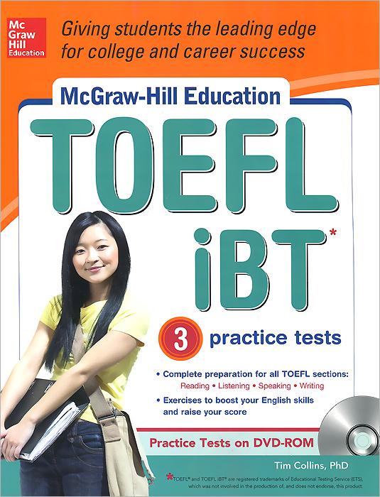 McGraw-Hill Education TOEFL iBT 3: Practice Test (+ CD-ROM)