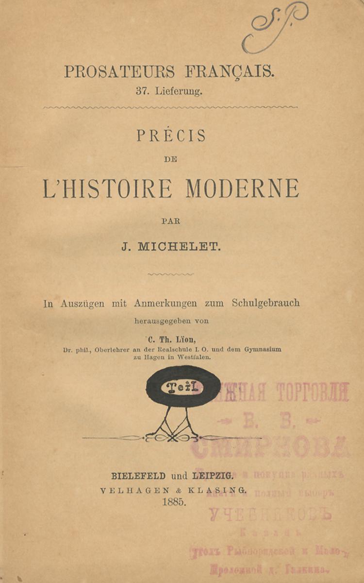Precis de L'Histoire Moderne. II
