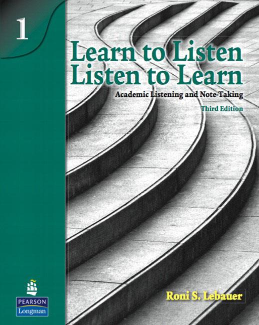 Learn to Listen, Listen to Learn 1