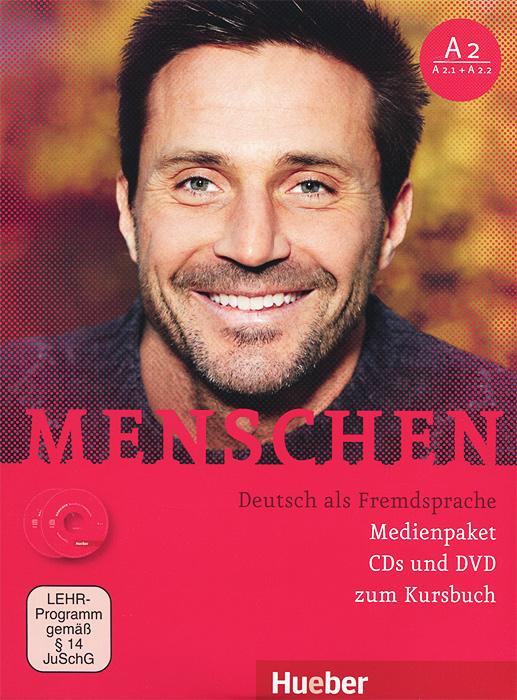Menschen: Deutsch als Fremdsprache (комплект из 2 CD + DVD)