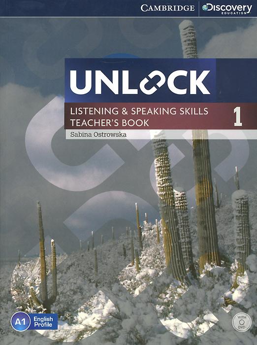 Unlock: Level 1: Listening and Speaking Skills: Teacher's Book (+ DVD-ROM)