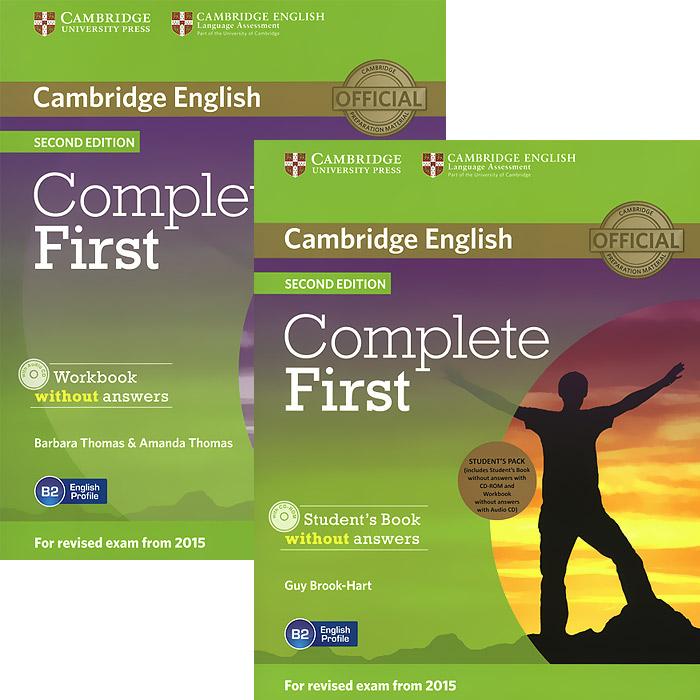 Complete First (комплект из 2 книг + CD-ROM, CD)