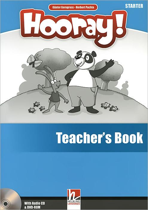 Hooray! Starter: Teacher's Book (+ CD and DVD)