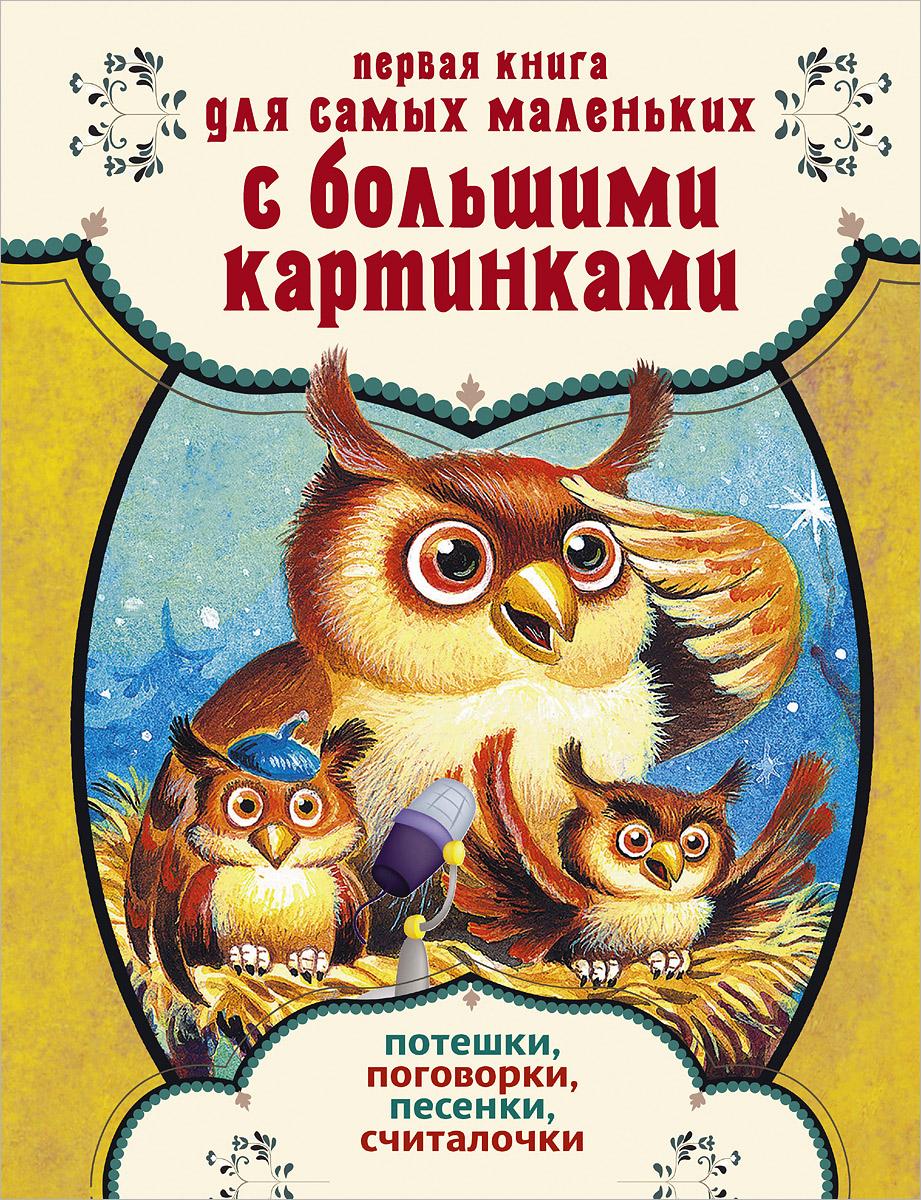 """Купить книгу """"Первая книга для самых маленьких с большими картинками. Потешки, поговорки, песенки, считалочки"""" -    toot.kz"""