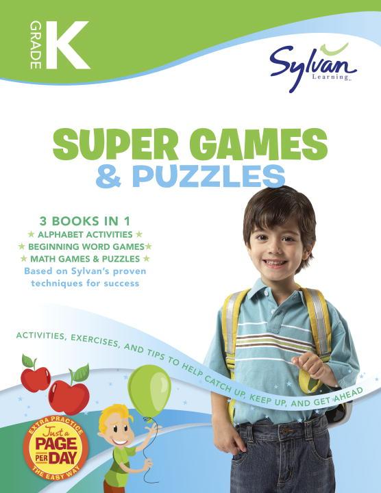 KINDER GAMES PUZZLE(SUPR WKBK)