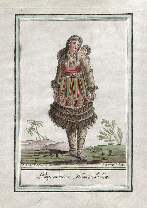Обитатели Камчатки. Западная Европа, конец XVIII века