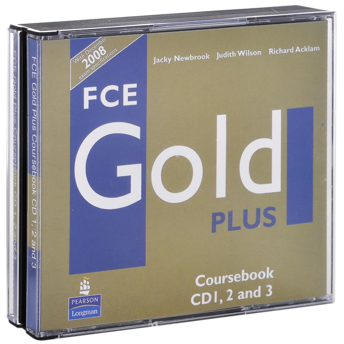 FCE Gold Plus: Coursebook (аудиокурс на 3 CD)