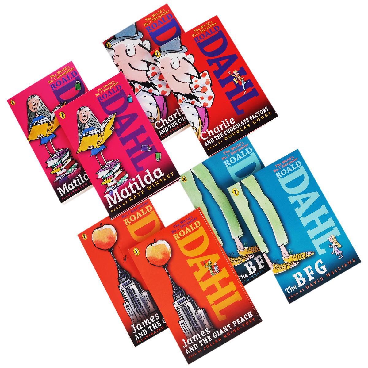 Dahl Book (комплект из 4 книг + 14 CD)