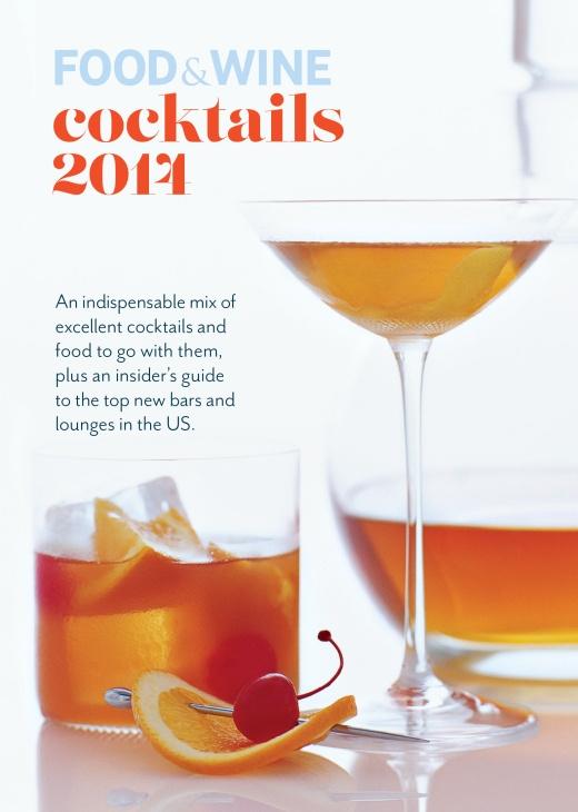FOOD & WINE COCKTAILS 2014