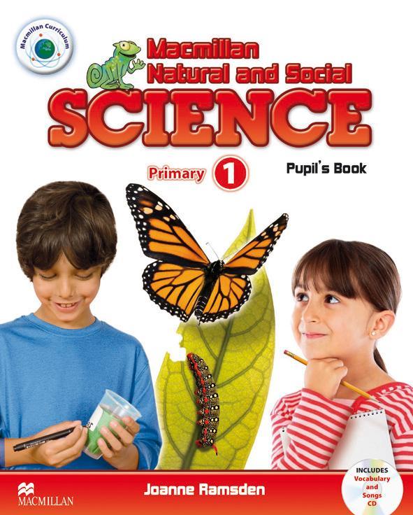 Macmillan Natural and Social Science: Primary 1: Pupil's Book (+ CD)