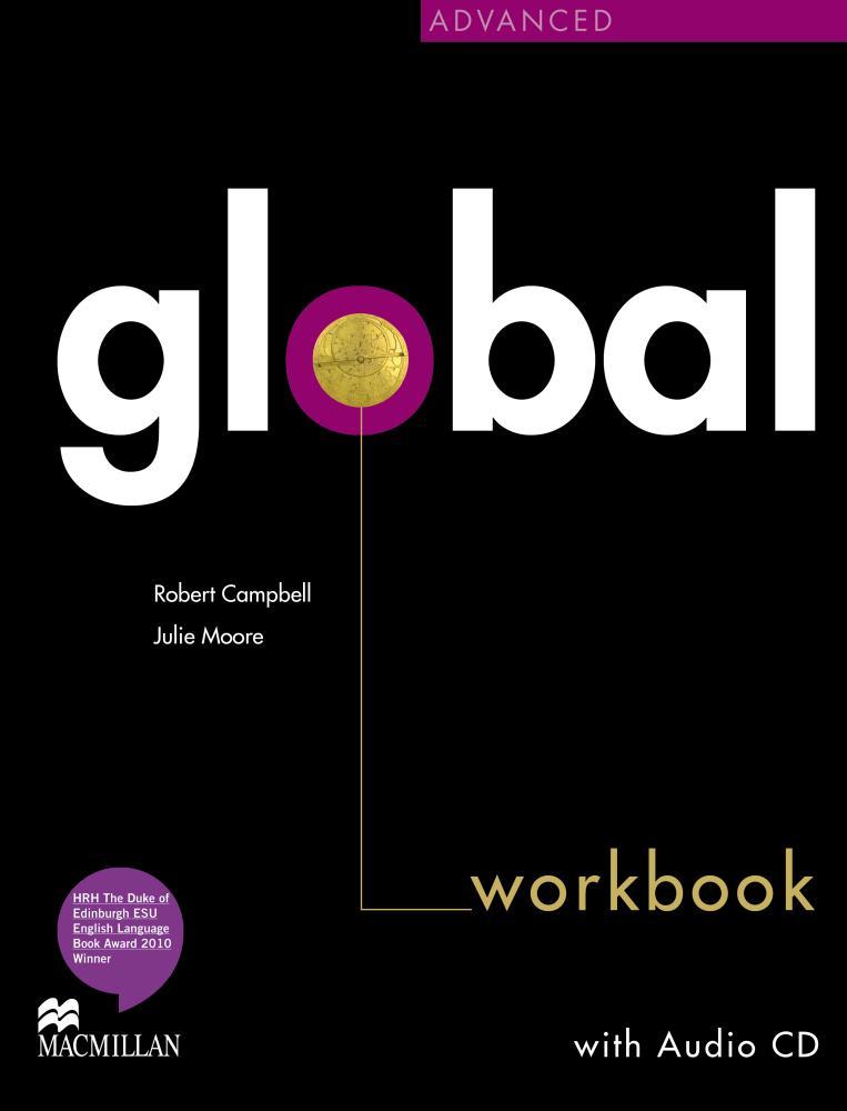 Global Global Adv Workbook & CD Pack
