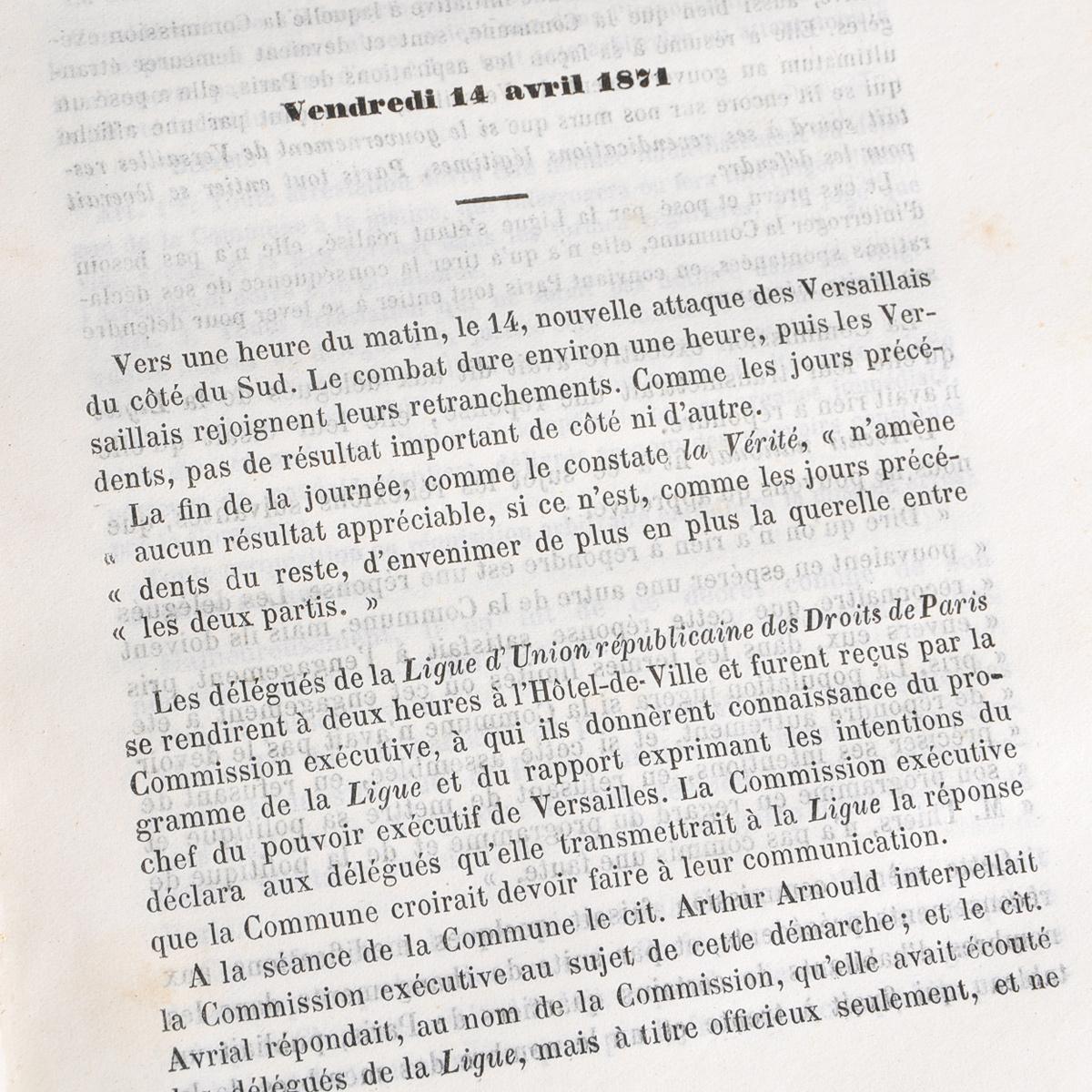Histoire de la Revolution du 18 Mars. Paul Lanjalley, Paul Corriez