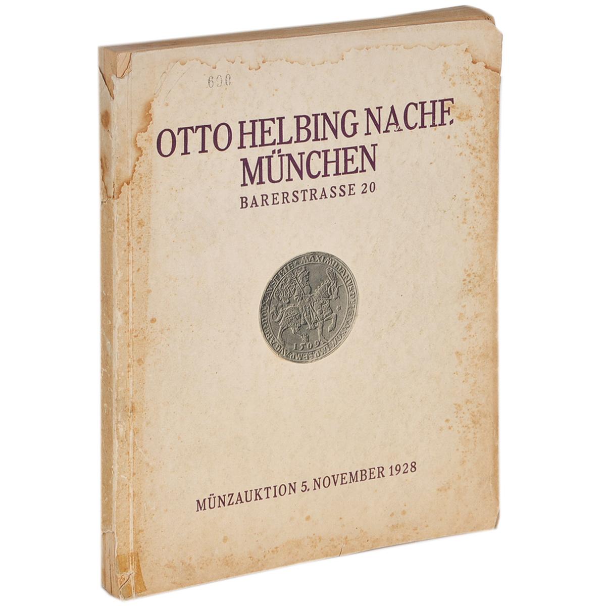 Bedeutende Sammlung von Munzen und Medaillen: Katalog