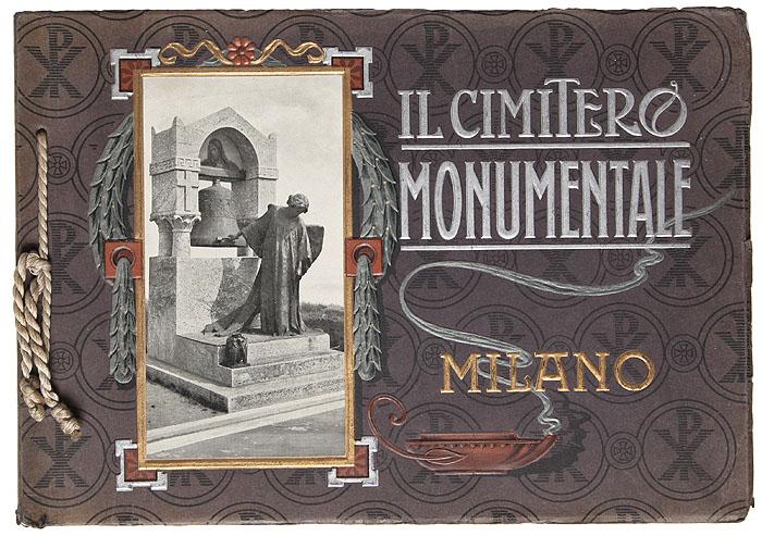 Миланское кладбище Монументале. Фотоальбом