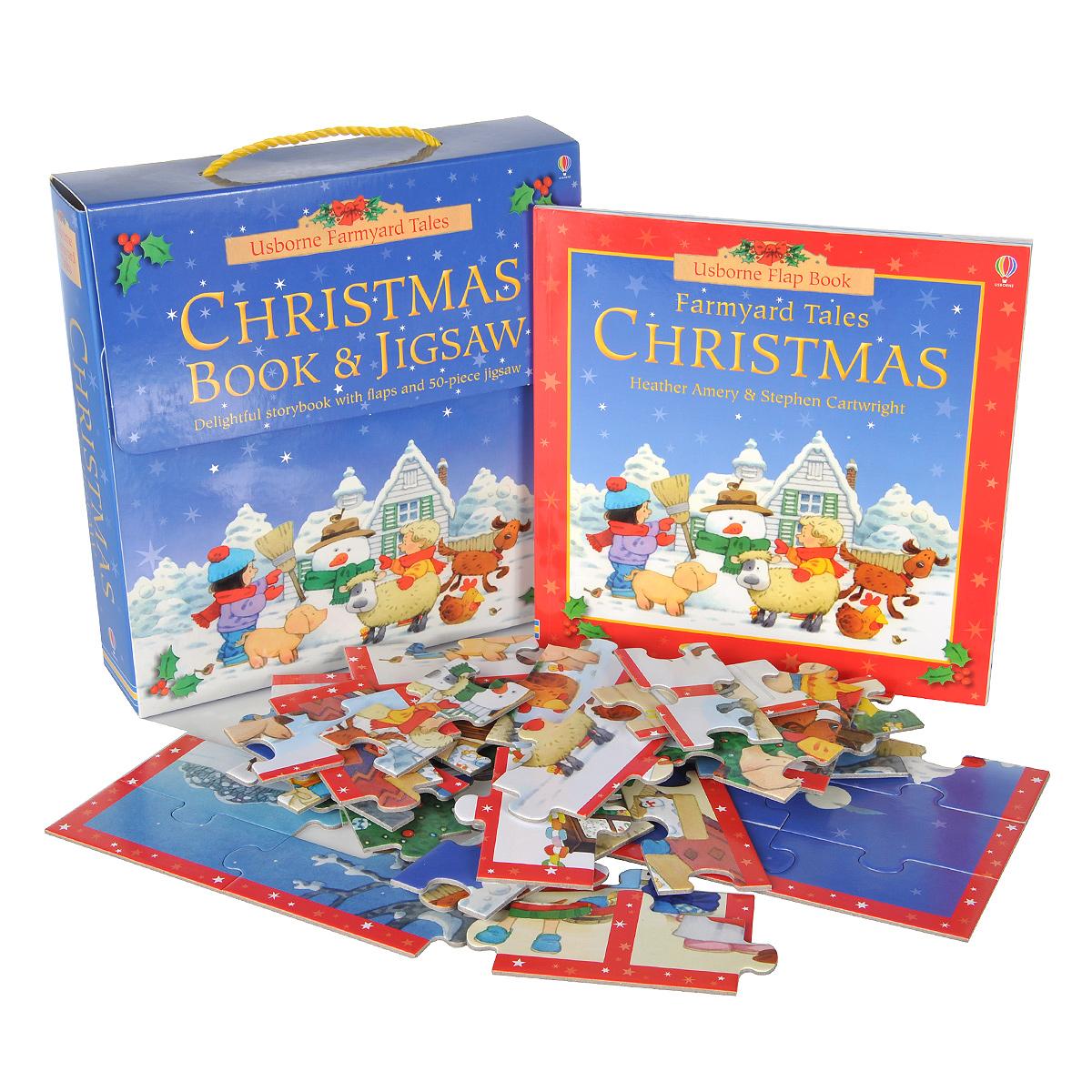 Christmas Book and Jigsaw (+ пазл)
