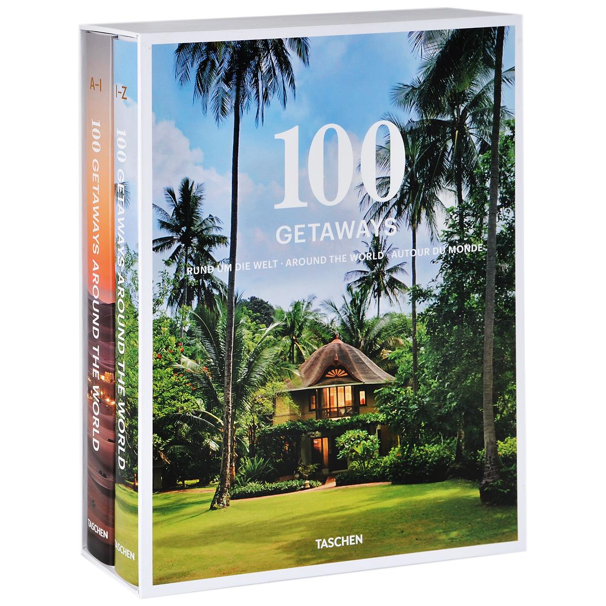 100 Getaways Around the World (комплект из 2 книг)