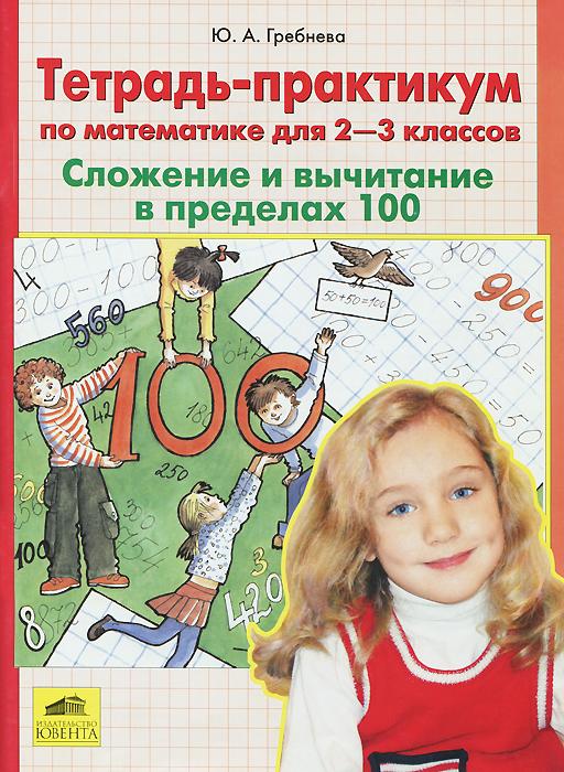 Математика. 2-3 классы. Сложение и вычитание в пределах 100. Тетрадь-практикум