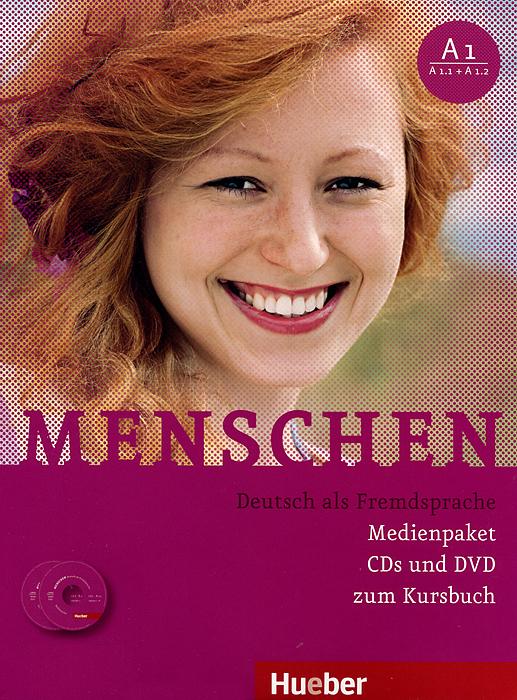 Menschen A1: Kursbuch A1 (3 CD + DVD-ROM)