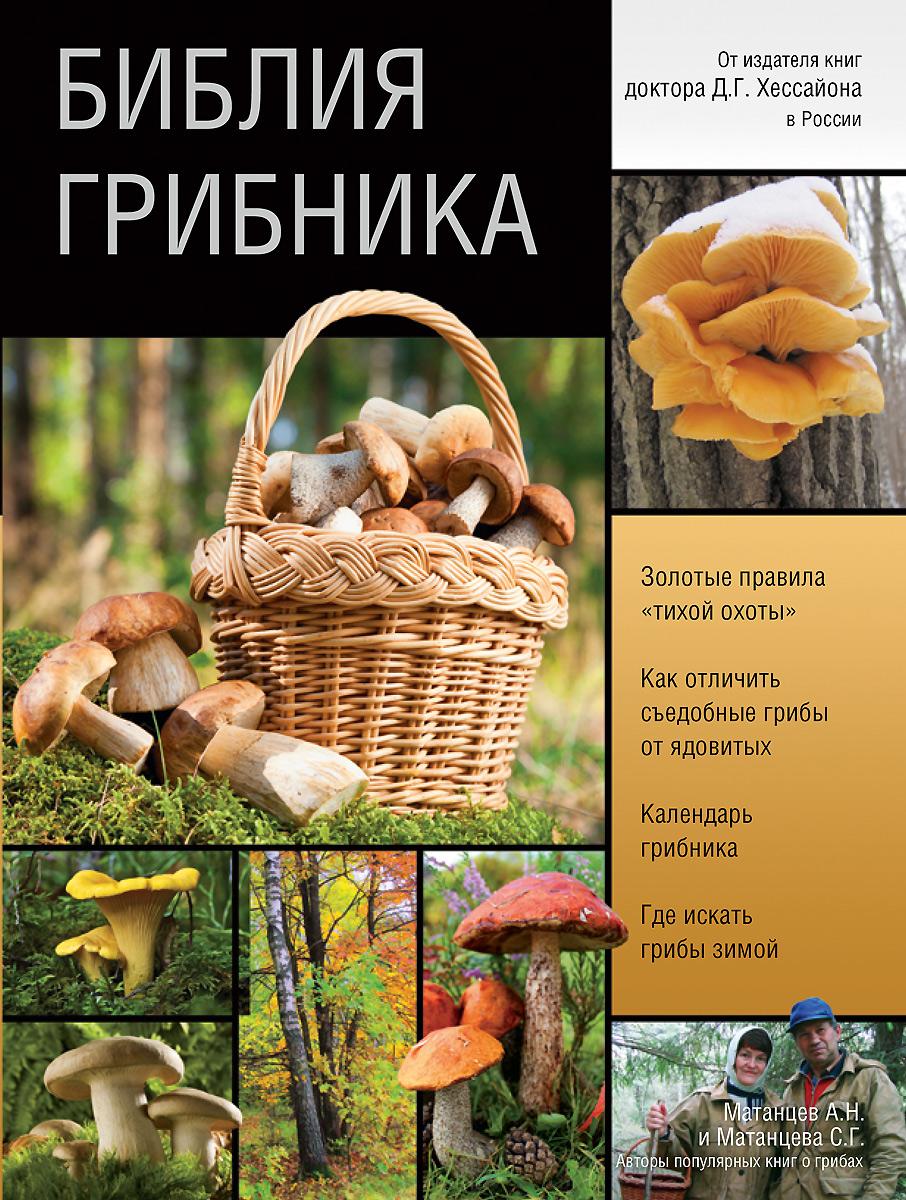 Библия грибника. Матанцев А.Н., Матанцева С.Г.