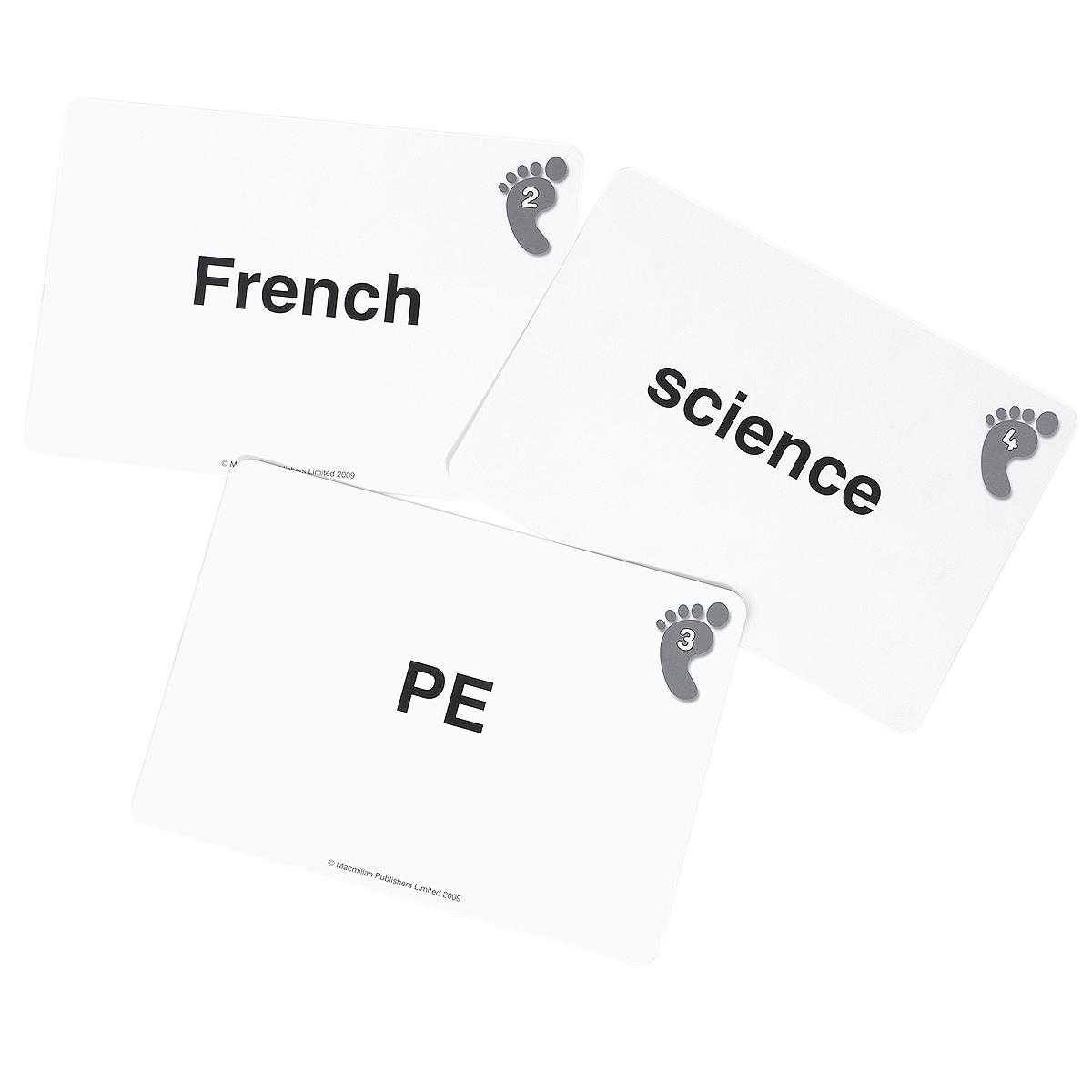 Footprints 4: Word Cards (набор из 114 карточек)