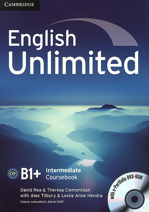 English Unlimited: Intermediate B1+: Coursebook (+ DVD-ROM)