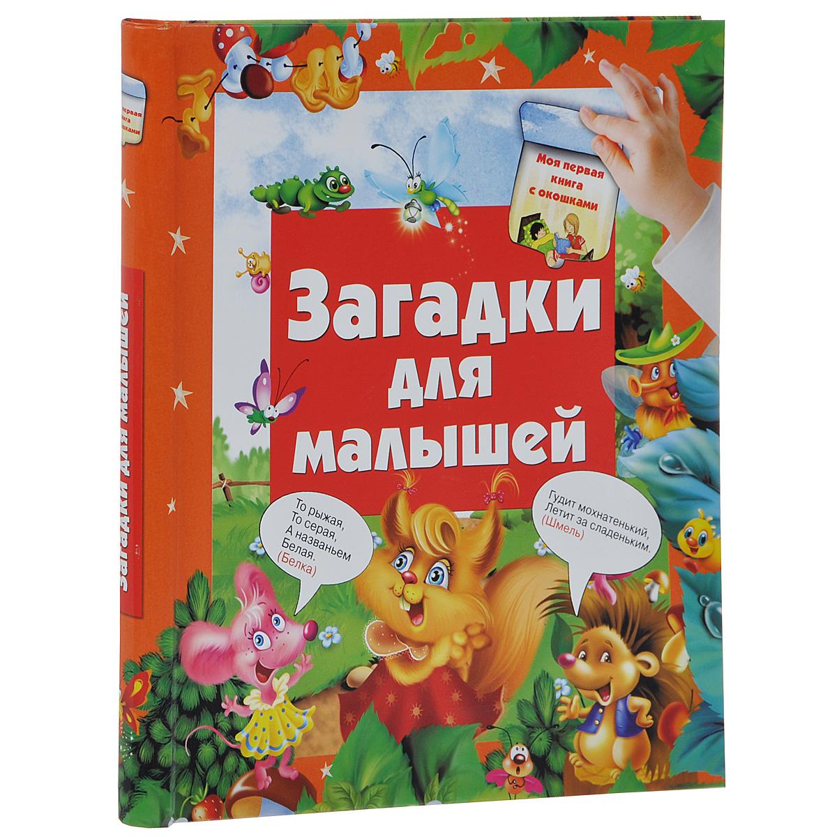Загадки для малышей. Книга с окошками