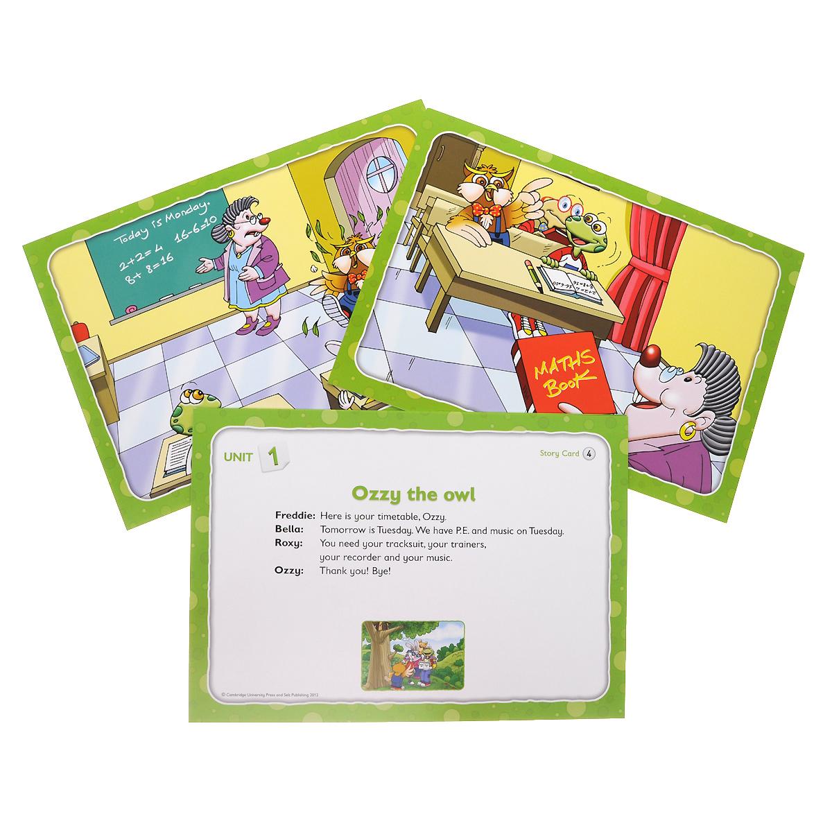 English Ladder 2: Story Cards (набор из 70 карточек)