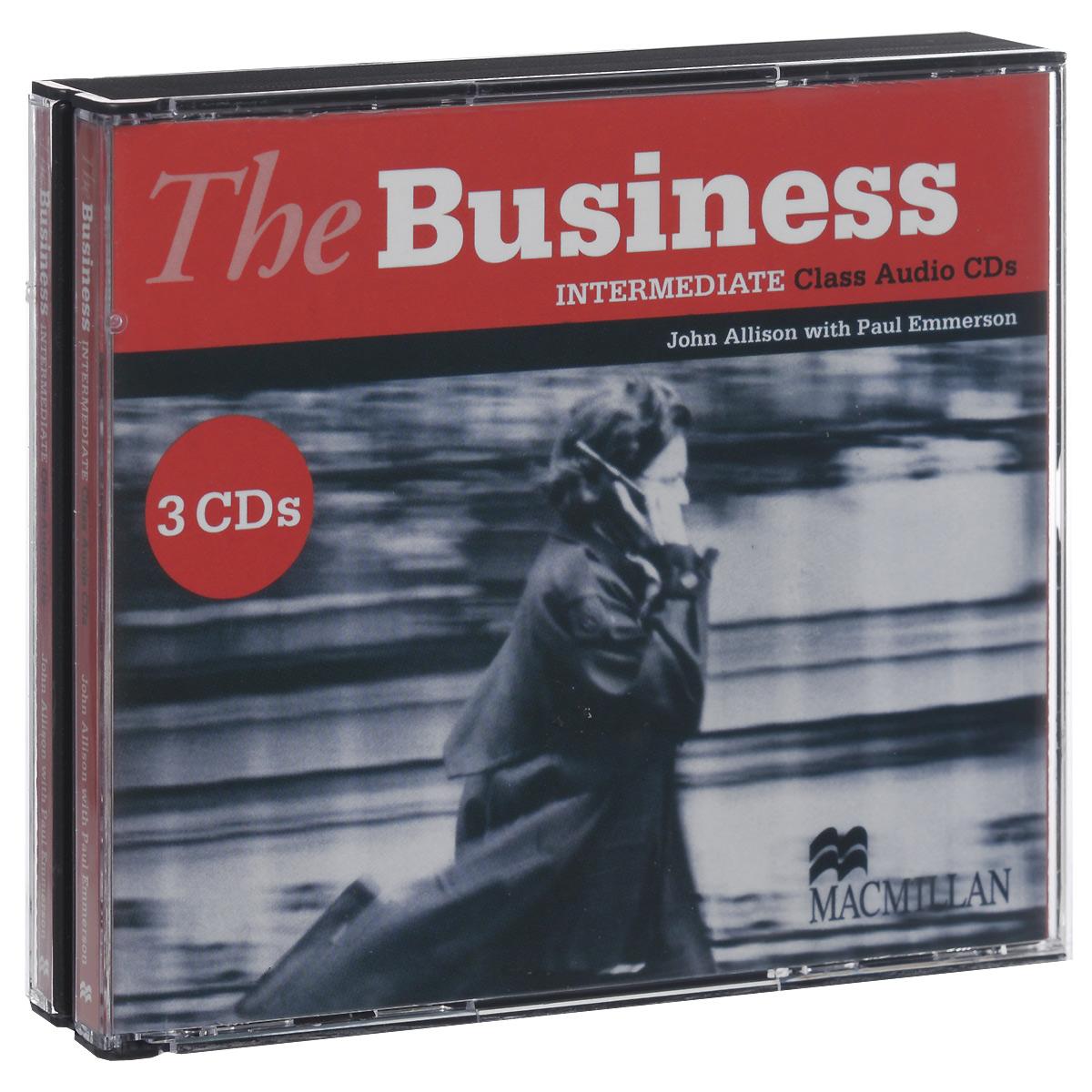 The Business Intermediate: Class Audio CDs (аудиокурс на 3 CD)