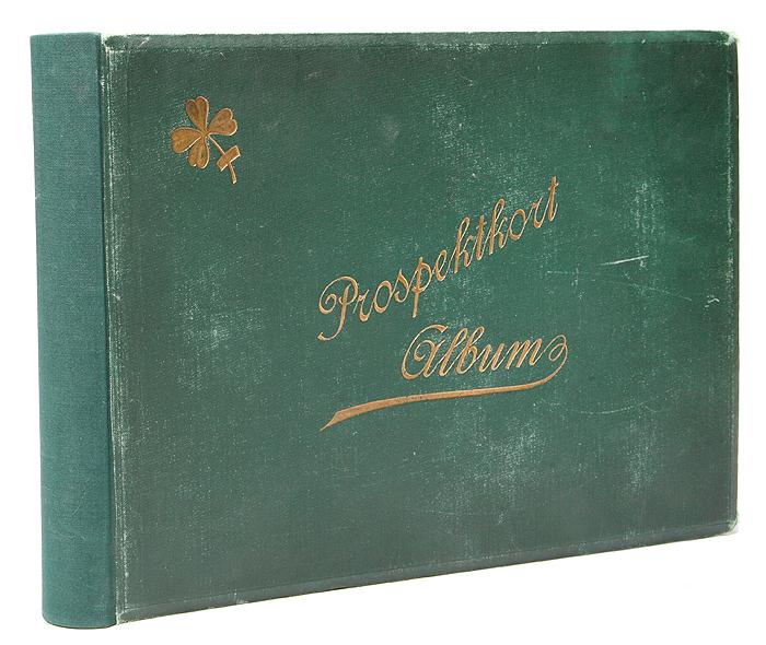 Альбом для открыток. Начало XX века