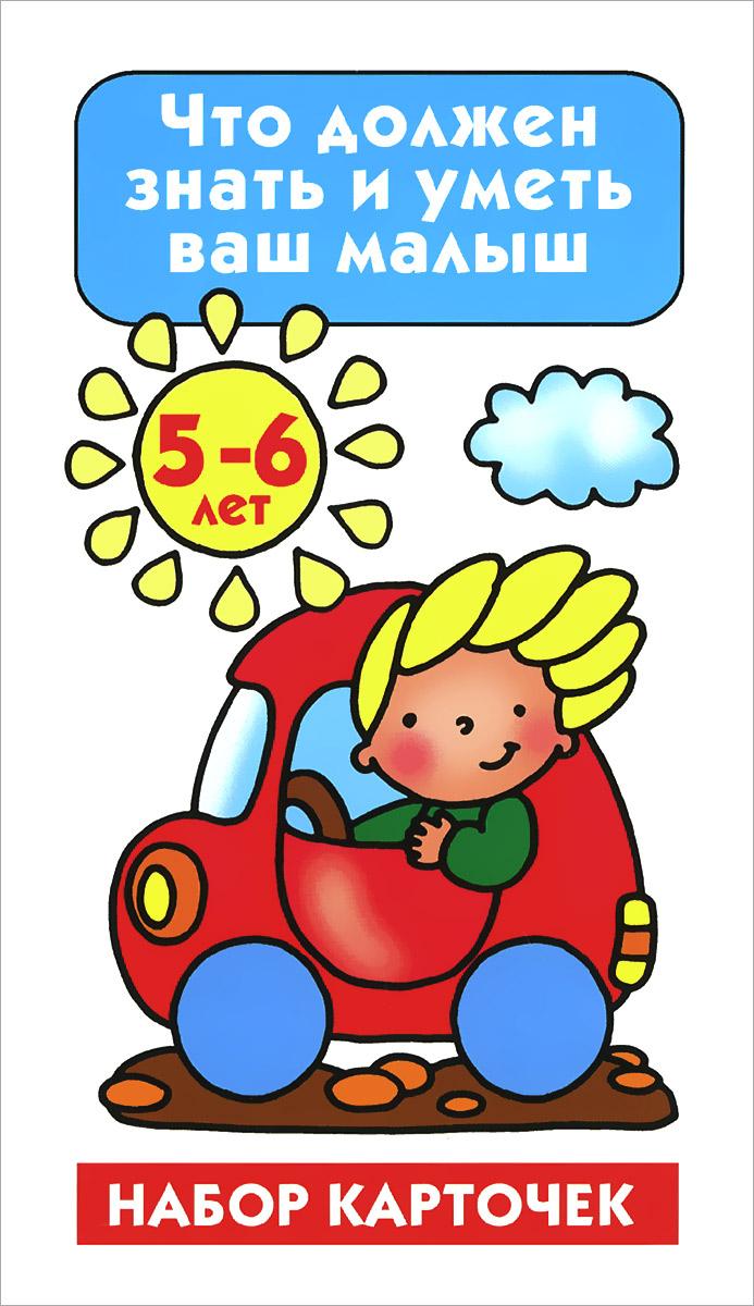 Что должен знать и уметь ваш малыш. 5-6 лет (набор из 26 карточек)