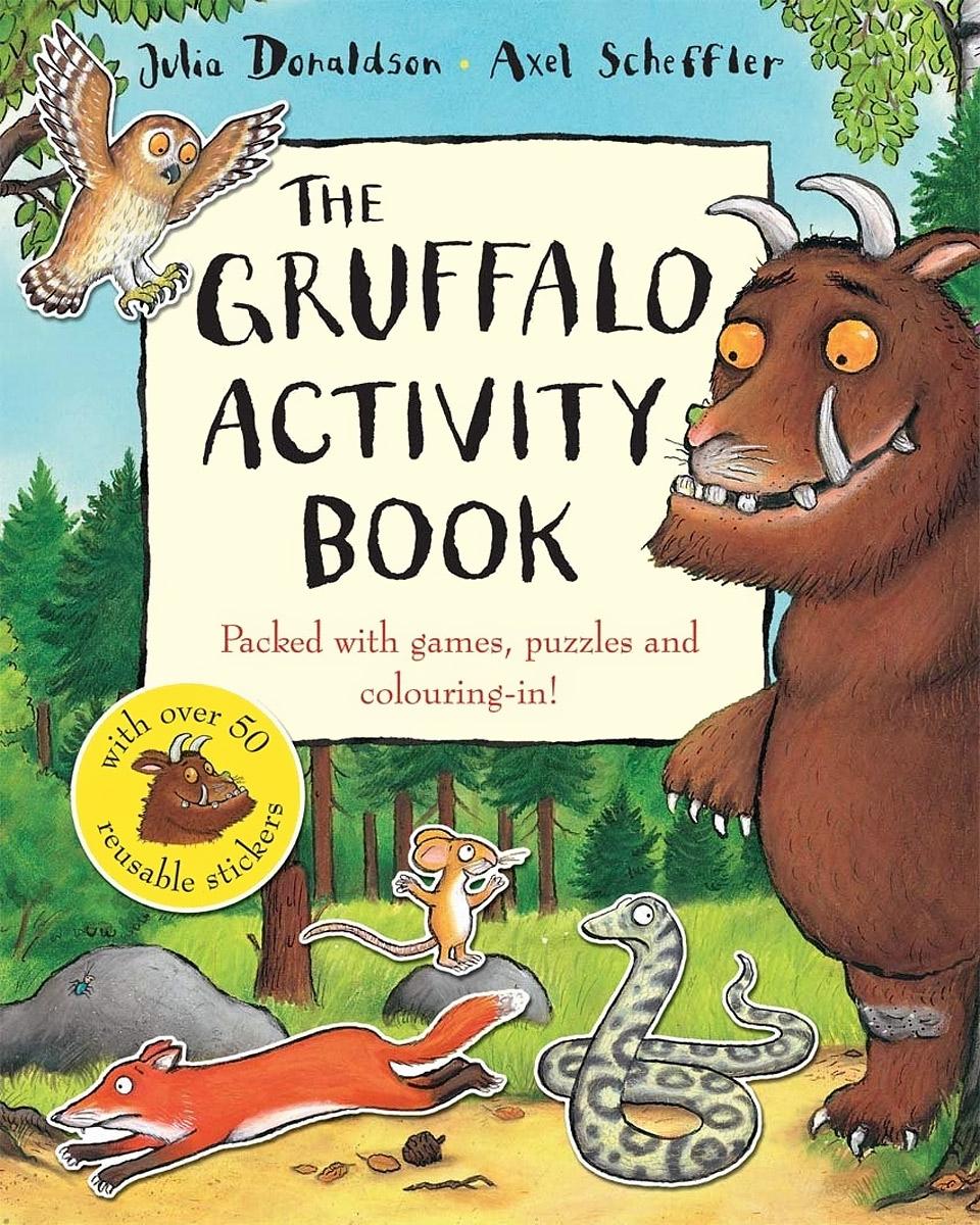 The Gruffalo Activity Book (+ 40 наклеек)