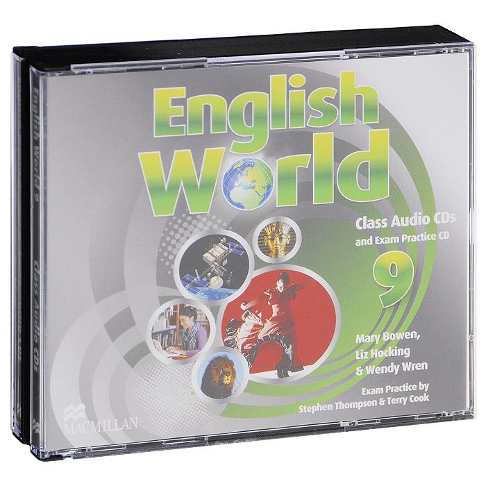 English World 9: Class CDs and Exam Practise CD (аудиокурс на 3 CD)
