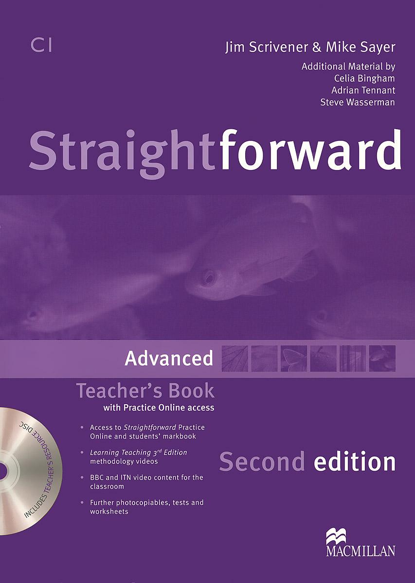 Straightforward: Advanced: Teacher's Book (+ DVD-ROM)