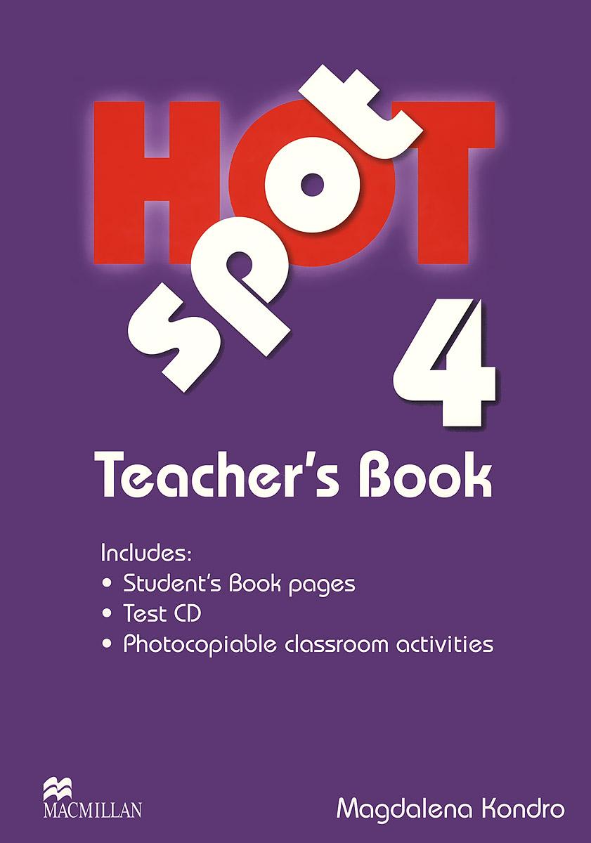Hot Spot 4: Teacher's Book (+ CD)