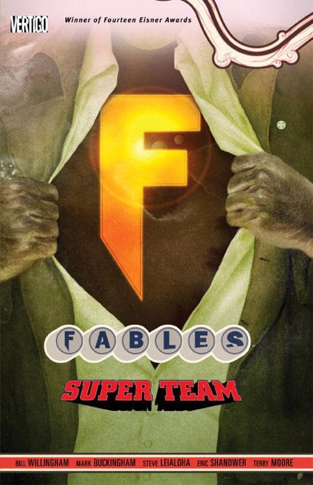 Fables vol 16 super team