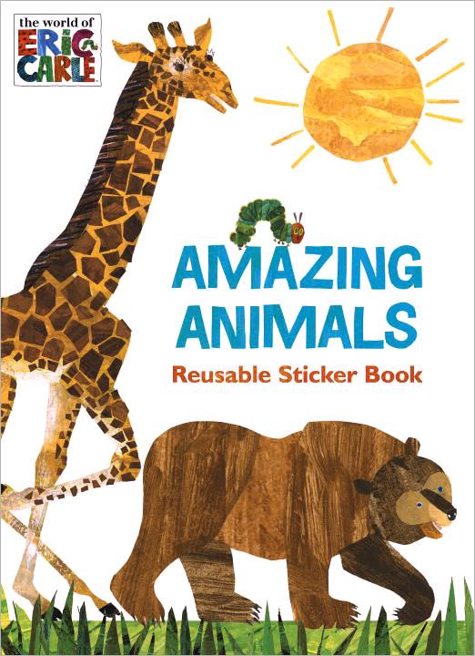 Amazing Animals: Reusable Sticker Book