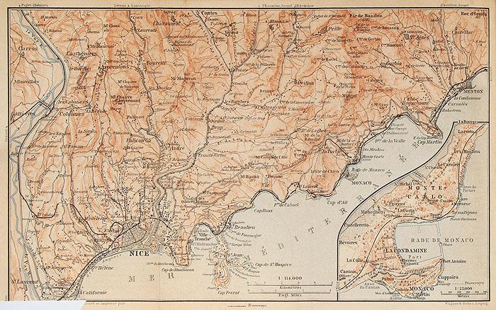 Юго-Восточная Франция, включая Корсику. Путеводитель